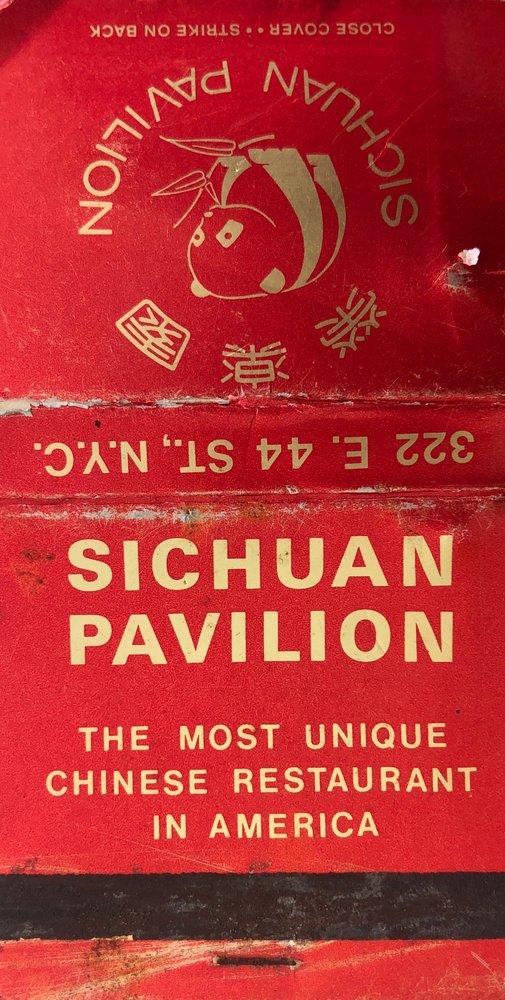 Sichuan Pavilion: 322 E 44th St, New York, NY