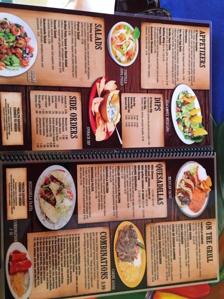 Patron Mexican Grill: 182 Walnut St, Dunlap, TN