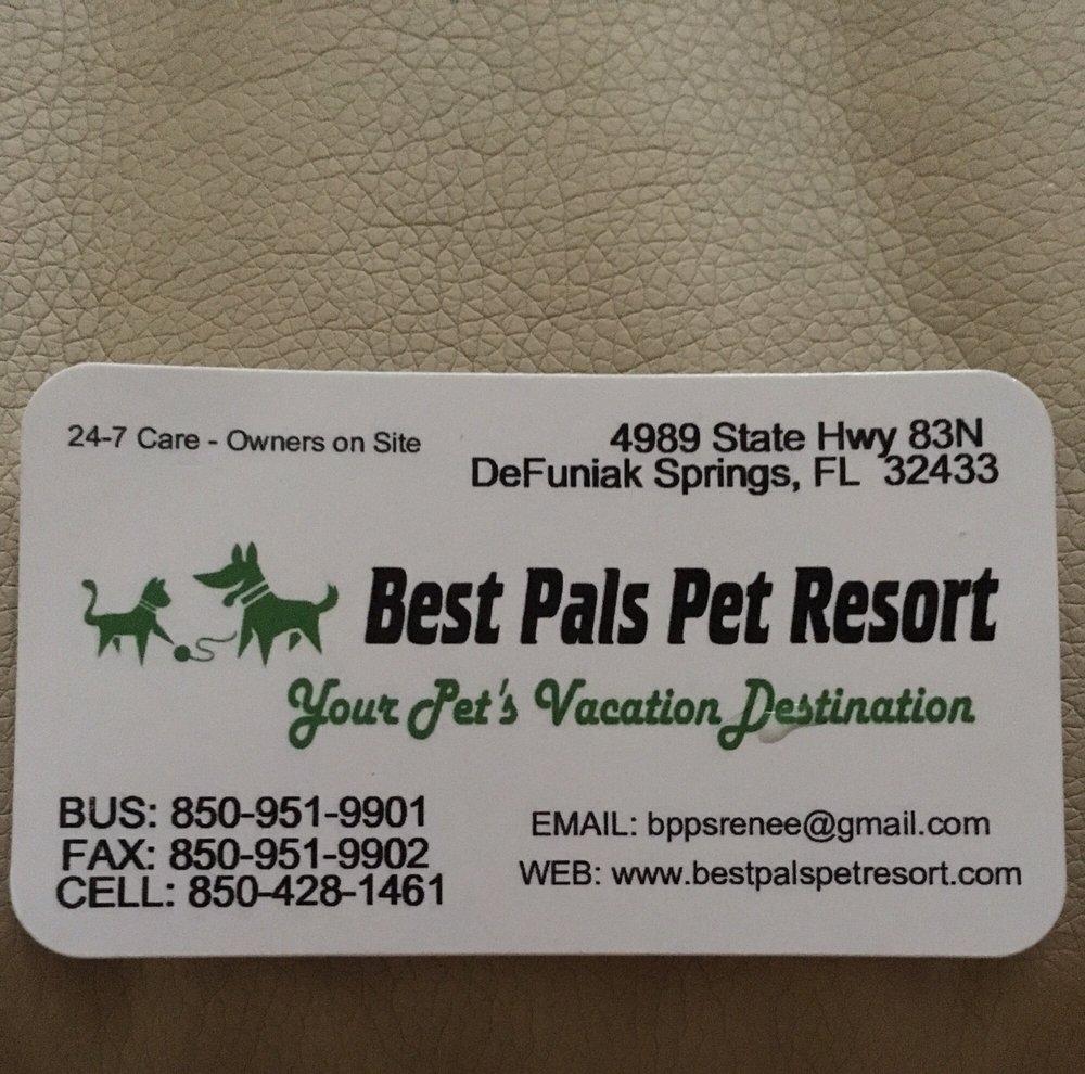 Best Pet Pals Resort: 4989 State Hwy 83N, DeFuniak Springs, FL