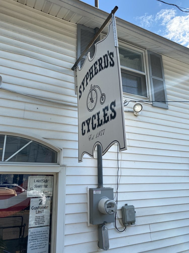 Sypherd Cycle & Rental Center: 182 Sycamore Ave, Lakeside Marblehead, OH