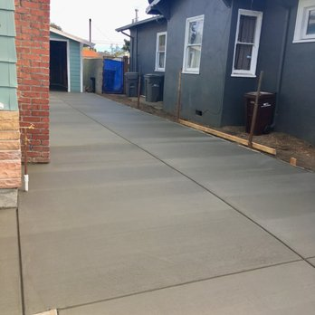Photo Of Diamond S Concrete Construction Oakland Ca United States Driveway Freshly Poured