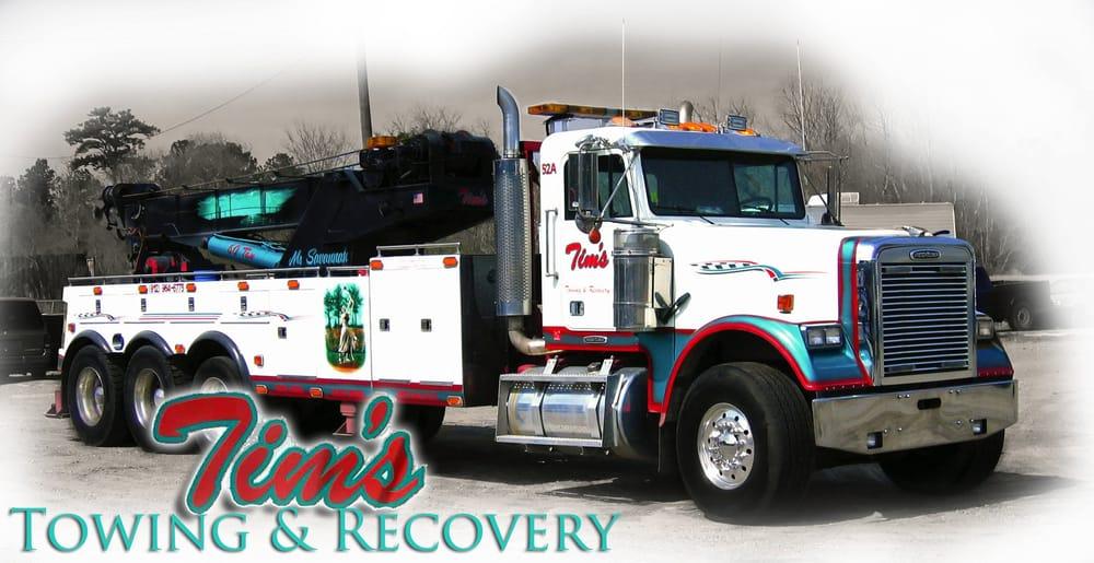 Tim's Towing & Recovery: 2141 Gamble Rd, Savannah, GA