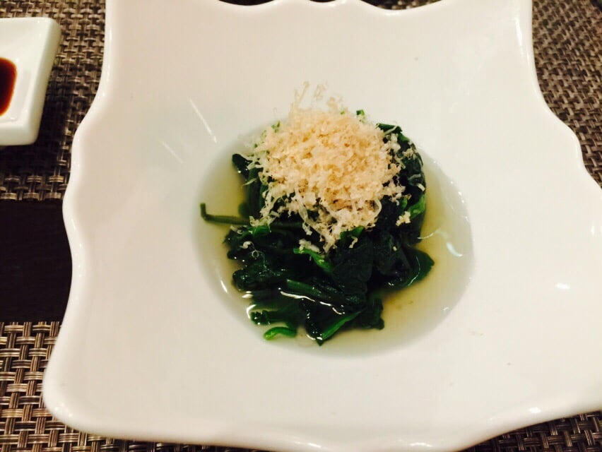 Spinach pickles yelp for Aoi japanese cuisine newport