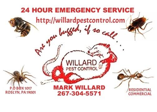 Willard Pest Control: Abington, PA