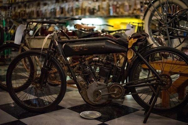 Kansas Motorcycle Museum: 120 N Washington St, Marquette, KS