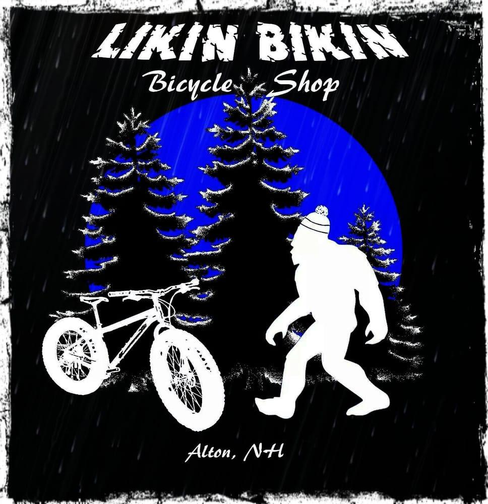 Likin' Bikin' Bicycle Shop: 5 Monument Sq, Alton, NH
