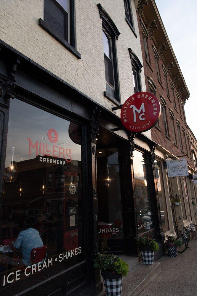 Four Dips LLC dba Miller's Creamery Millersburg: 105 W Jackson St, Millersburg, OH