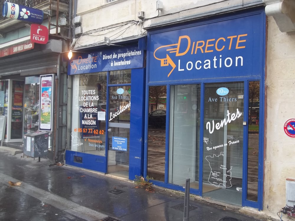 Directe location agence immobili re 10 avenue thiers - Cabinet radiologie avenue thiers bordeaux ...