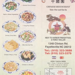 China Garden Chinees 1348 Clinton Rd Fayetteville Nc Verenigde Staten Reviews