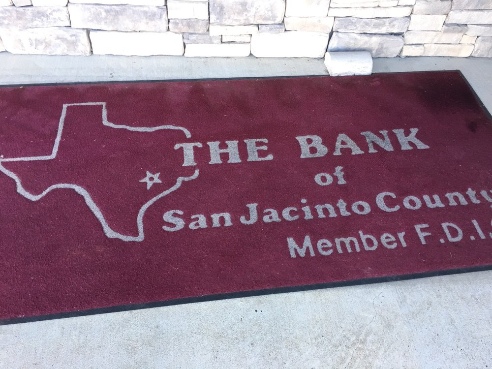 Bank of San Jacinto County: 100 State Highway 150, Coldspring, TX