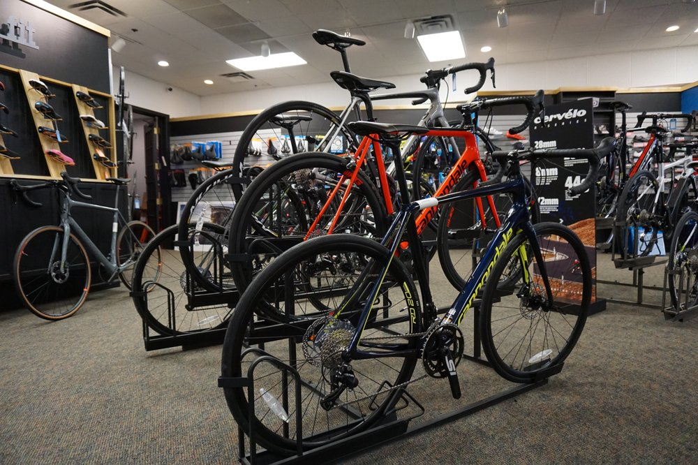 Now Bikes & Fitness: 1201 County Rd E W, Arden Hills, MN