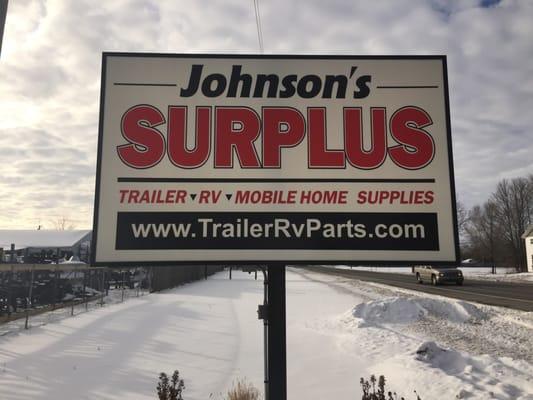 Johnson S Surplus Tires 12195 Us Hwy 12 White Pigeon