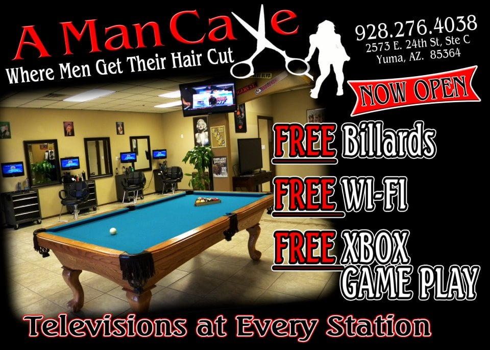Man Cave Barber Yelp : A man cave reviews barbers e th st yuma