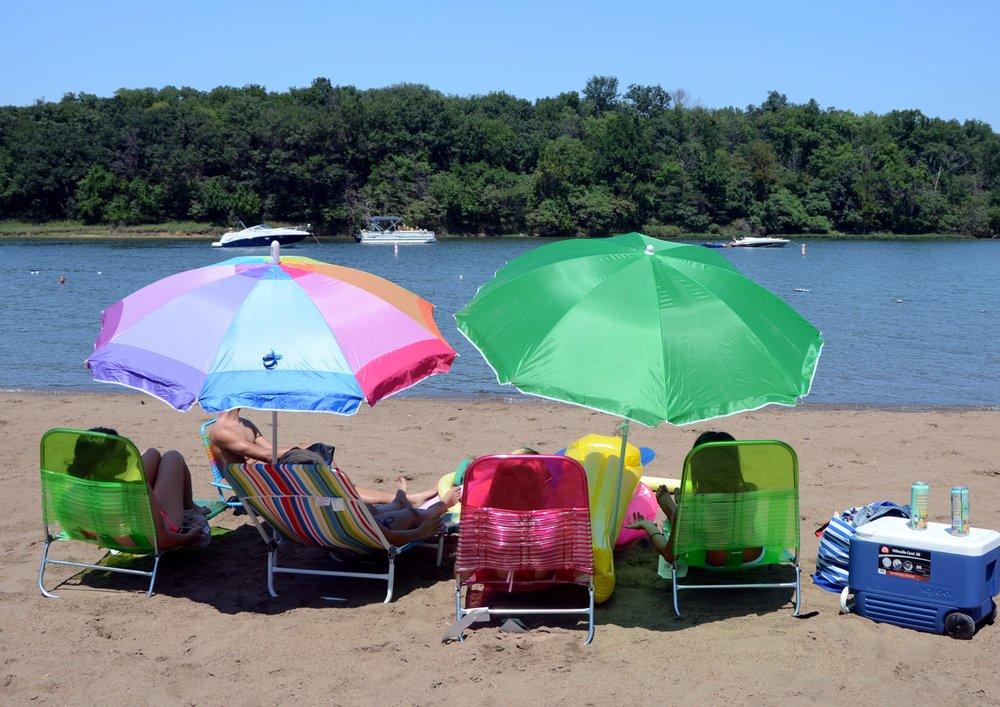 Blue Springs Lake Beach: 1500 NE Bowlin Rd, Lee's Summit, MO