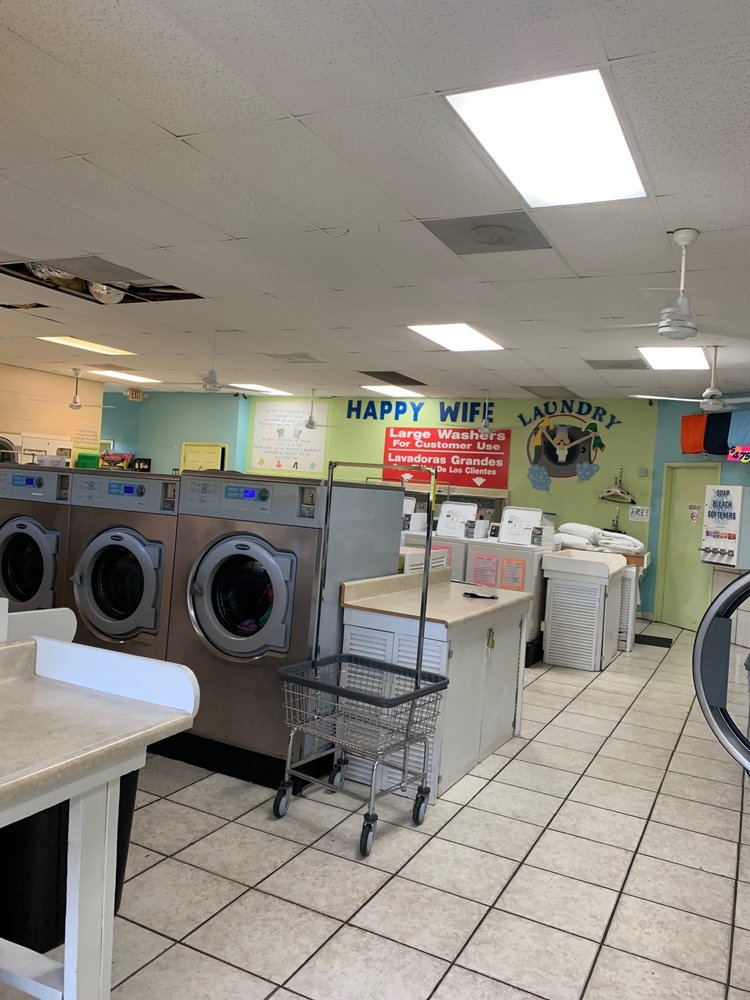 Happy Wife Laundromat: 15660 San Carlos Blvd, Fort Myers, FL