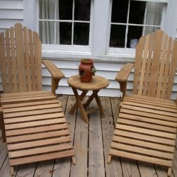 Photo Of Atlanta Teak Furniture   Atlanta, GA, United States. Teak  Adirondack Chairs