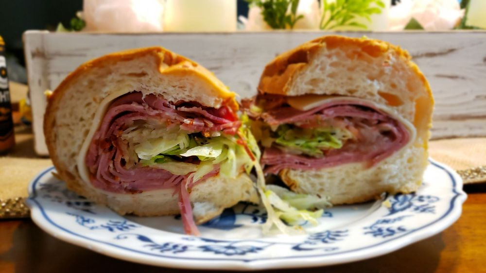 Food from Anchor Hoagies