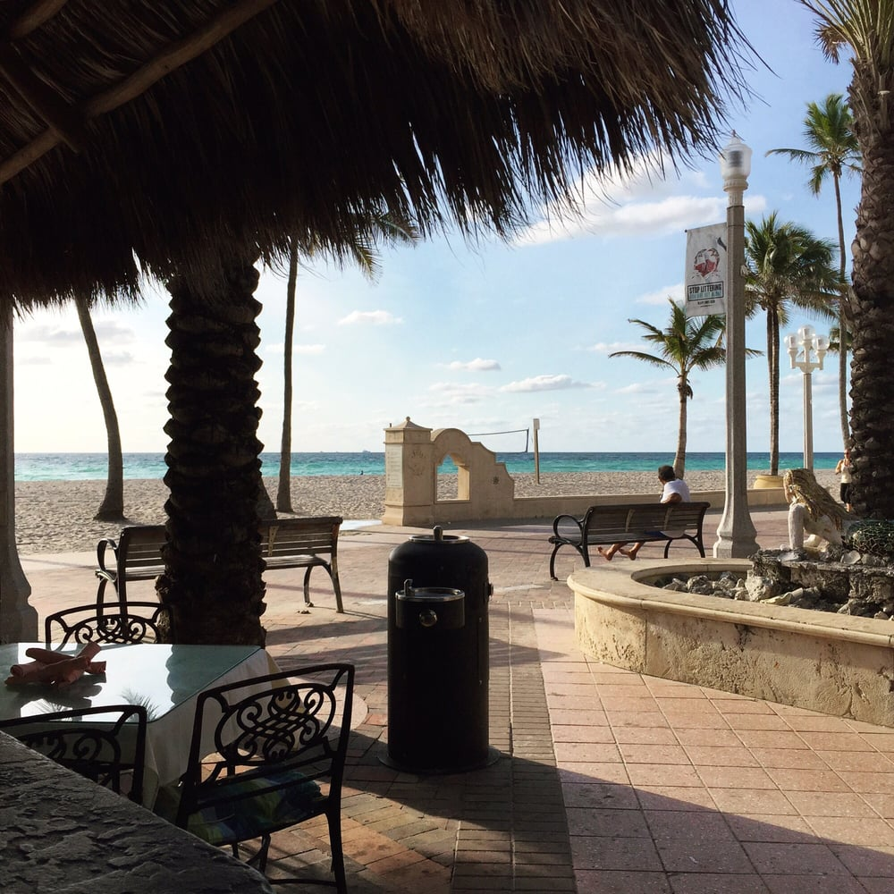 Ocean Alley Restaurant Beach Bar Hollywood Fl