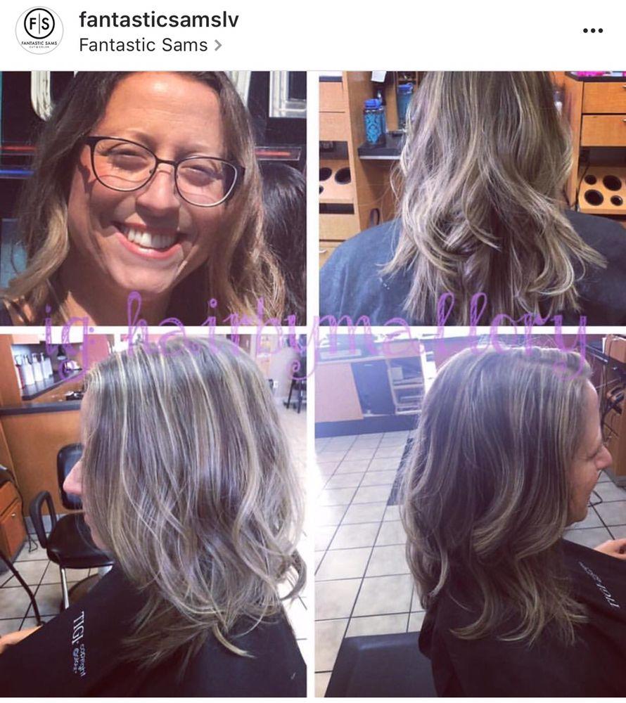 Sams Style Hair Salon Highlight Balayage & Style Hairour Stylist Mallory  Yelp