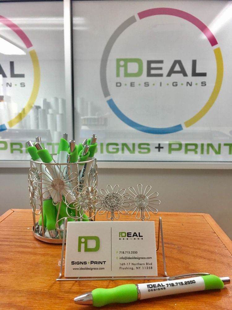 Ideal Designs Signs & Print: 169-17 Northern Blvd, Flushing, NY