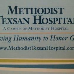 Methodist Texsan Hospital logo