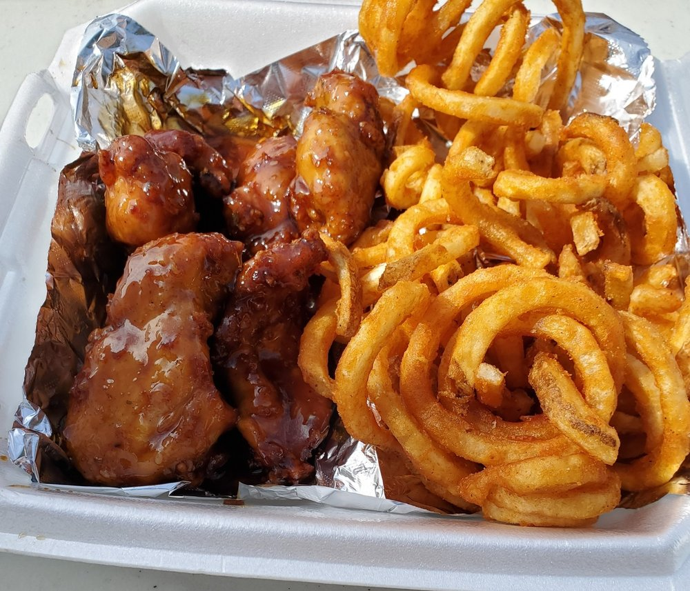 Food from SC House of Wings