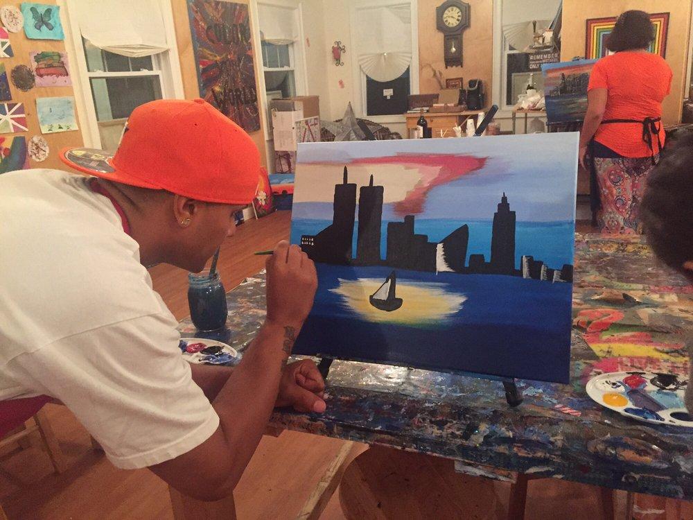 The Phoenix Art Studio & Gallery: 573 Middle Rd, Bayport, NY