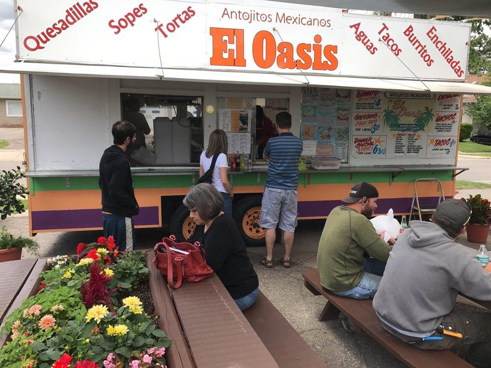 El Oasis Food Truck Menu
