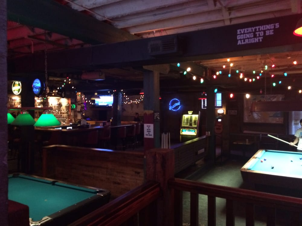 Front Bar With Pool Tables And Darts Yelp - Pool table movers wilmington nc