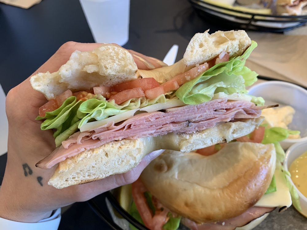 Food from Barb City Bagels