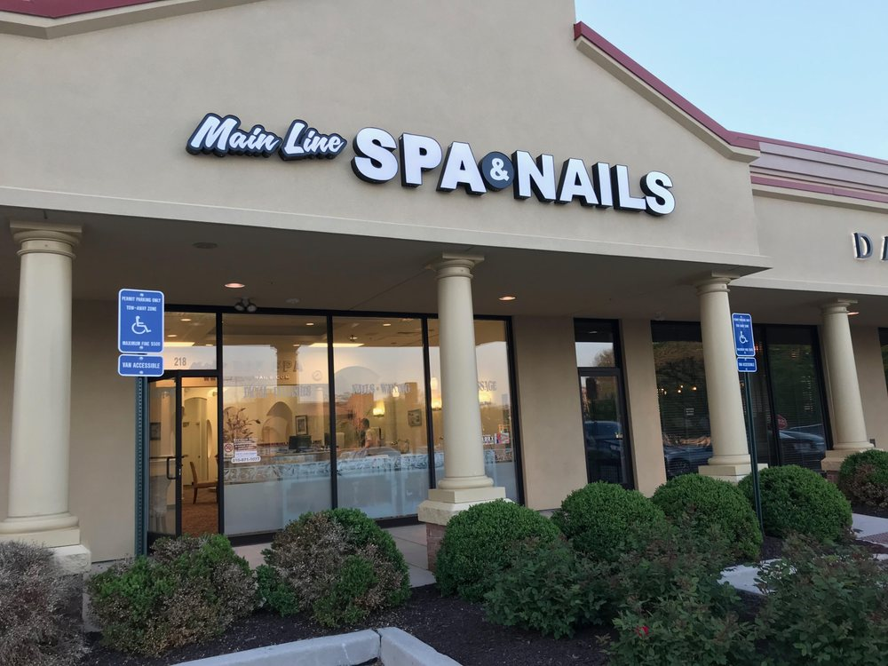Main Line Spa & Nails - Nail Salons - 218 Sugartown Rd, Wayne, PA ...