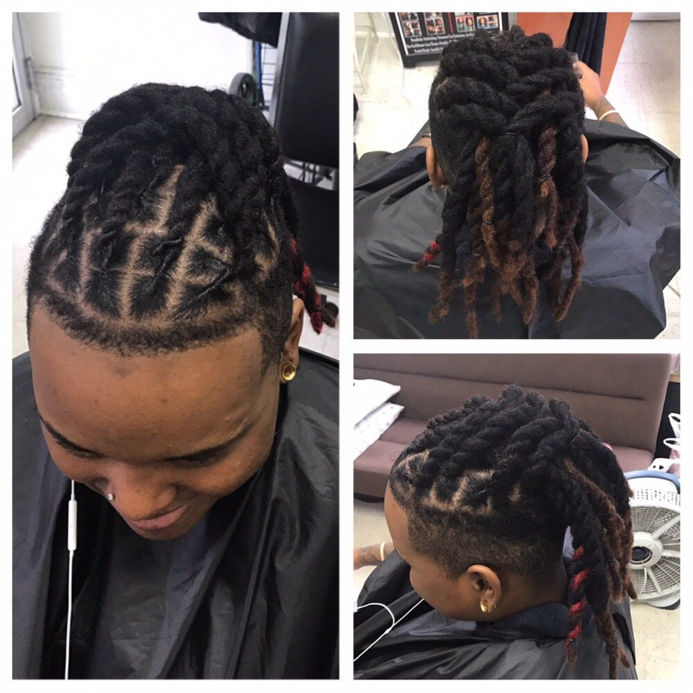 Permanent Loc Extensions Wash Retwist And Style Yelp