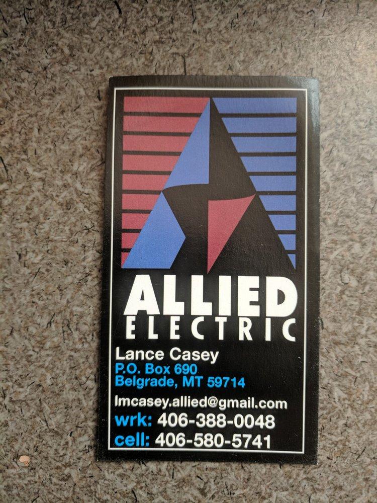 Allied Electric: 856 Glider Ln, Belgrade, MT