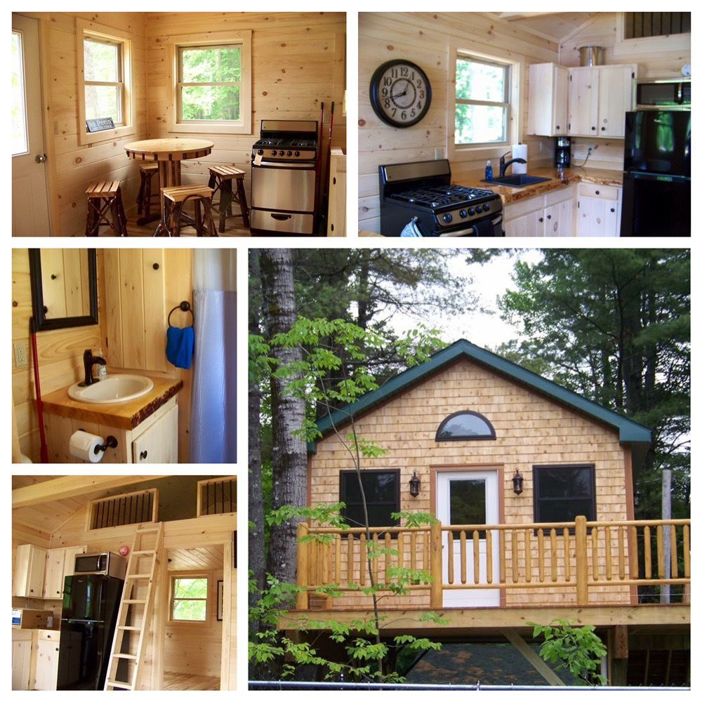 Yonderhill Campground: 221 Lakewood Rd, Madison, ME