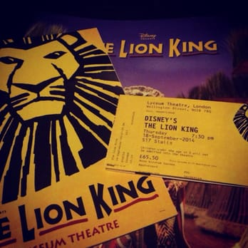 The Lion King 26 Photos 78 Reviews Theatres 21 Wellington