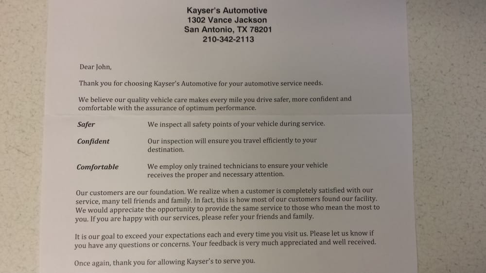 Kaysers automotive service auto repair 5525 evers rd san tx kaysers automotive service auto repair 5525 evers rd san tx phone number yelp spiritdancerdesigns Image collections