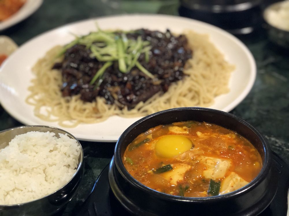 Food from Bulgogi Korean Bistro