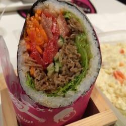 ... Burrito - Singapore, Singapore. Beef sushi and potato salad burrito