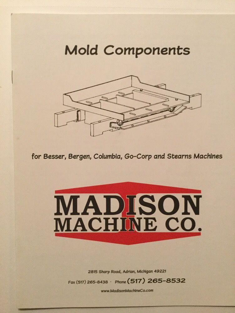 Madison Machine: 2815 Sharp Rd, Adrian, MI