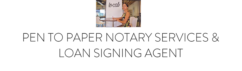 Pen to Paper Notary Services: Lytle, TX