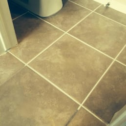 Photo Of Floor Doctor   McGregor, TX, United States. Cleaned Grout Lines And