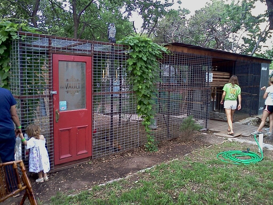 Photo Of Funky Chicken Coop Tour   Austin, TX, United States. Bank Vault
