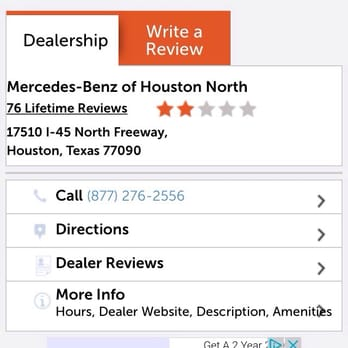 Mercedes benz of houston north 108 photos 86 reviews for North houston mercedes benz dealer