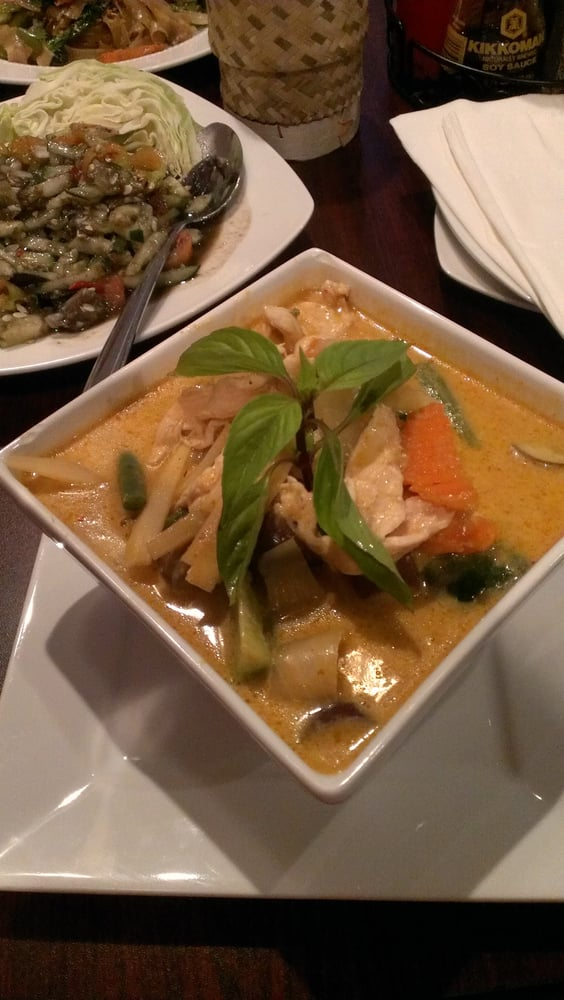 Red curry with chicken yelp for Ano thai lao cuisine menu