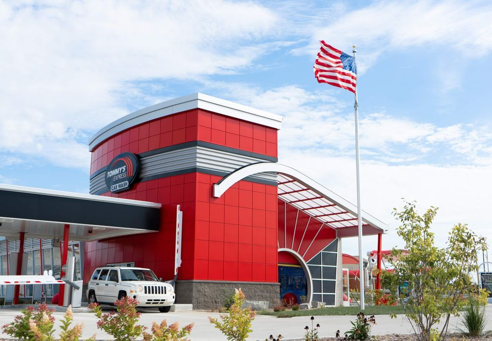 Tommy's Express® Car Wash: 1611 Schofield Ave, Schofield, WI