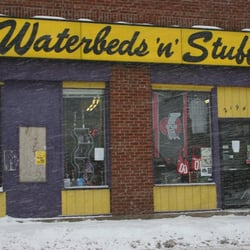 Waterbeds n stuff tobacconists 2194 n high st for Waterbeds and stuff