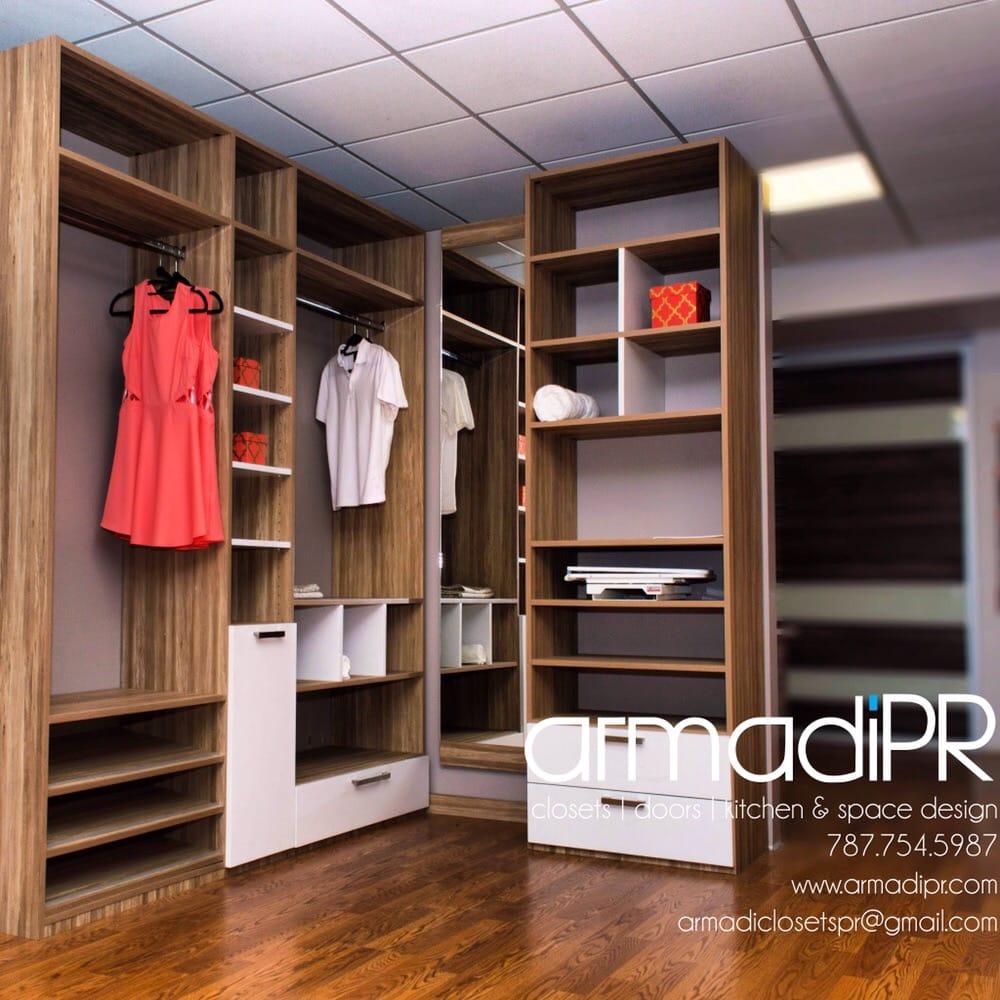 Closets en madera pvc o hidrofugo yelp for California closets puerto rico