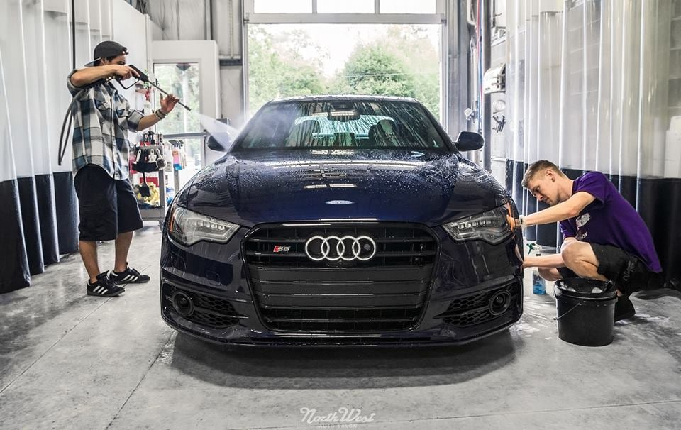 Nwas Doing Their Work On A 2014 Audi S6 Yelp