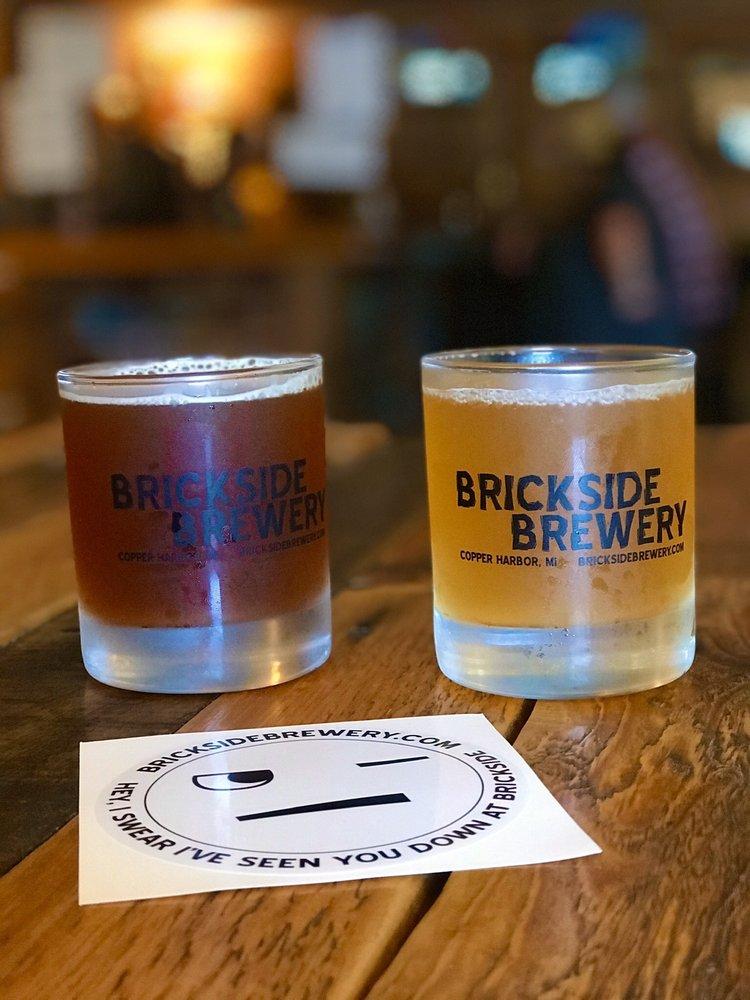 Brickside Brewery: 64 Gratiot St, Copper Harbor, MI