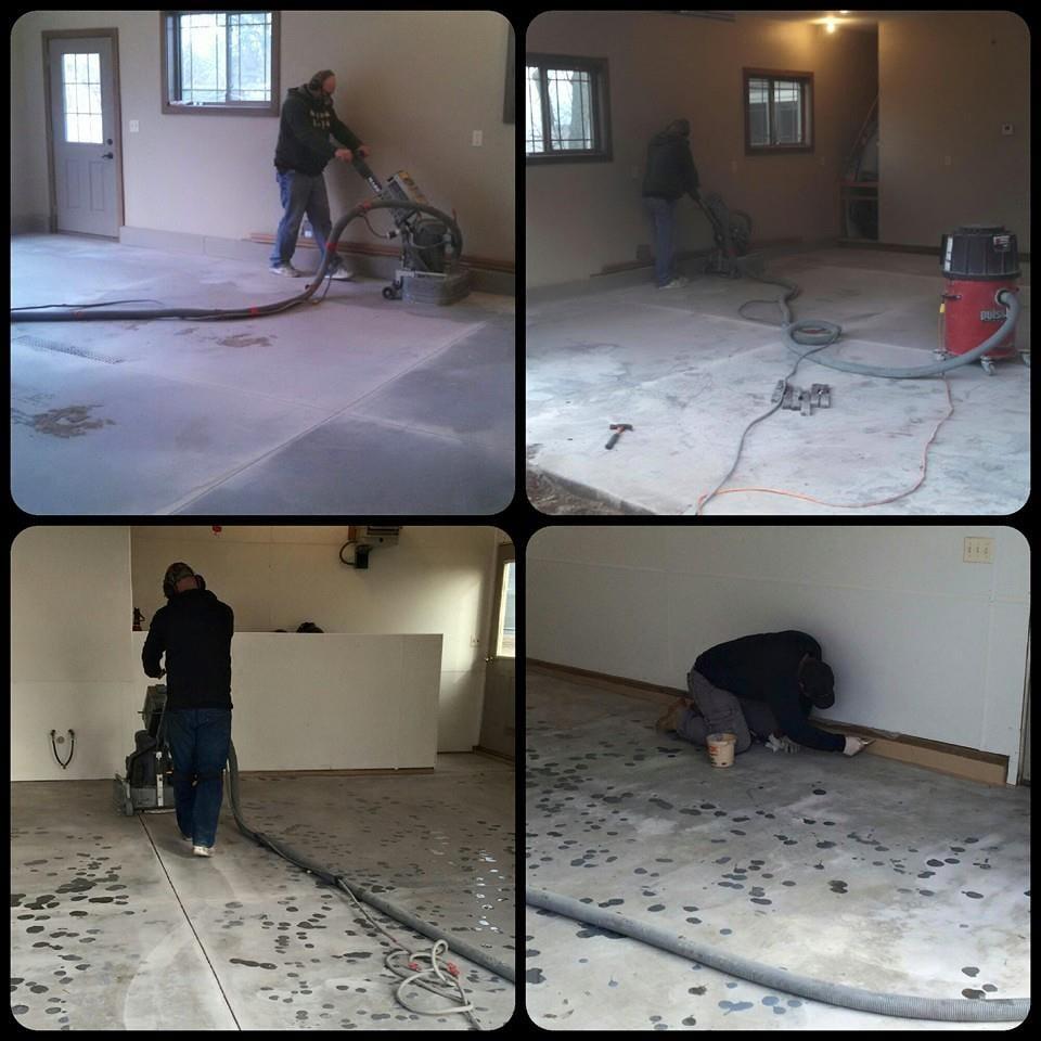 Photo Of Pro Concrete Construction   Benson, MN, United States. Garage Floor  Coating